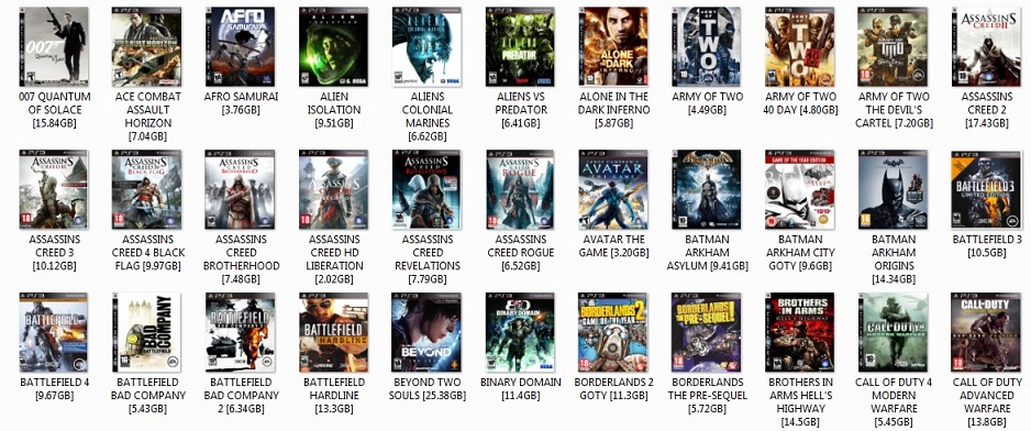 PS3 DOWNLOADED GAMES LIST PART 1.jpg