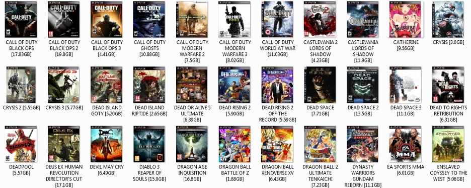 PS3 DOWNLOADED GAMES LIST PART 2.jpg